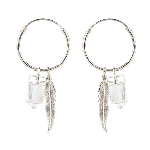 Gypsy Soul Charmed Earrings Stirling Silver