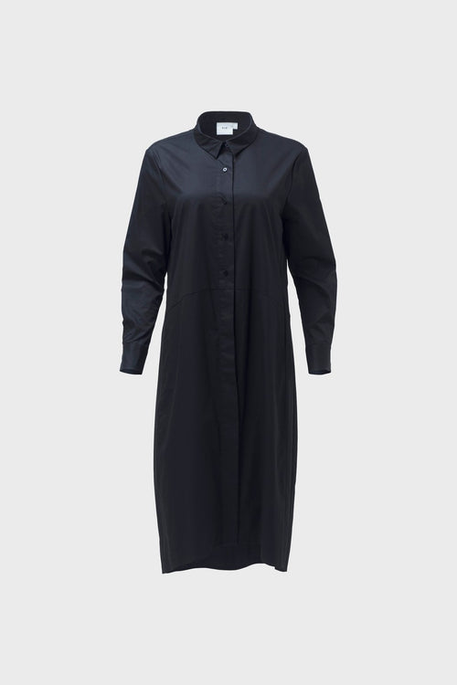 Dania Shirt Dress - Black | Elk Clothing | Ethical Fair Trade Fashion