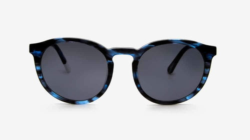 Darya Blue Striped | Ethical Sunglasses Australia | ECOMONO