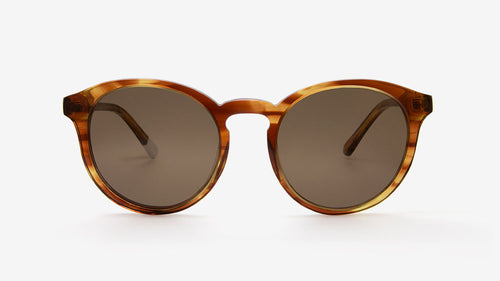 Darya Honey Striped Tortoiseshell | Ethical & Sustainable Sunglasses Australia | ECOMONO