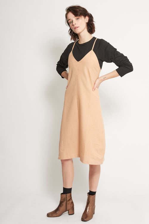 Dirty Pink Davis Slip Dress | Ethical Clothing Australia | ECO.MONO
