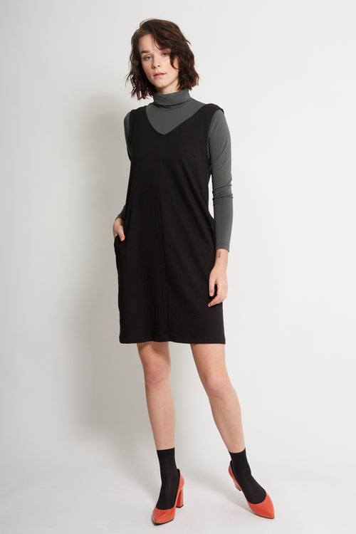 Black Shift Dress | Ethical & Sustainable Fashion | ECO.MONO
