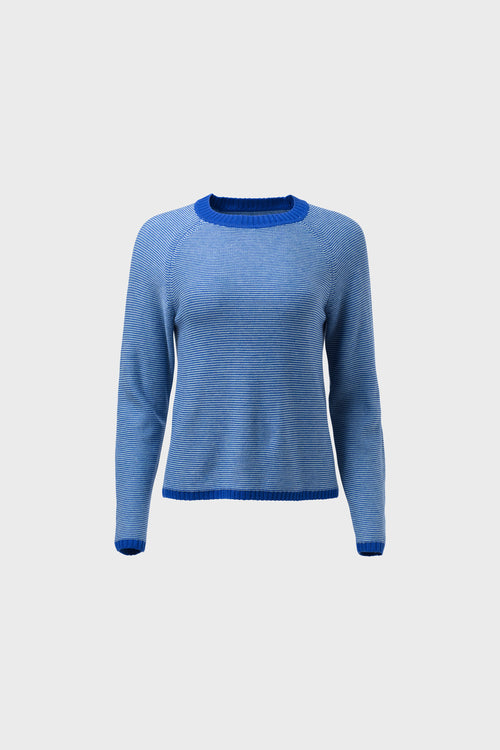 Cora Sweater Blue | Elk The Label | Ethical Fair Trade Fashion Australia