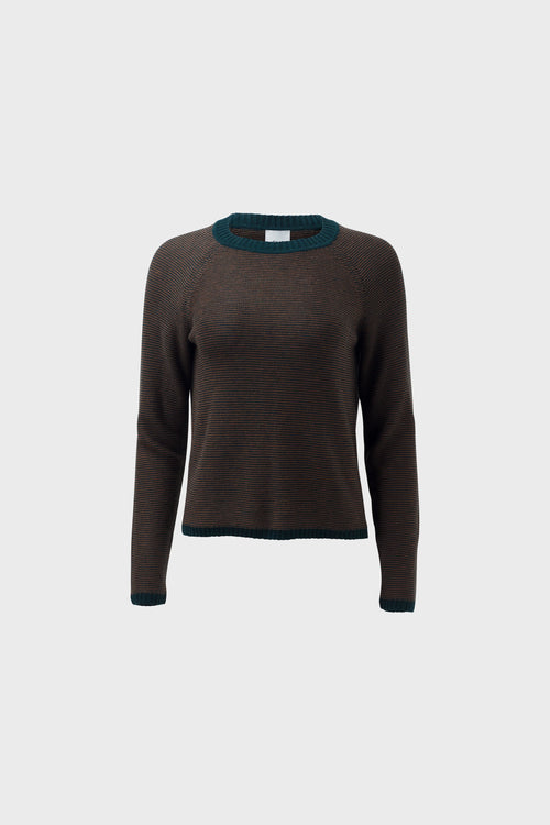 Cora Sweater Pine Nutmeg | Elk The Label | Ethical Fashion Australia