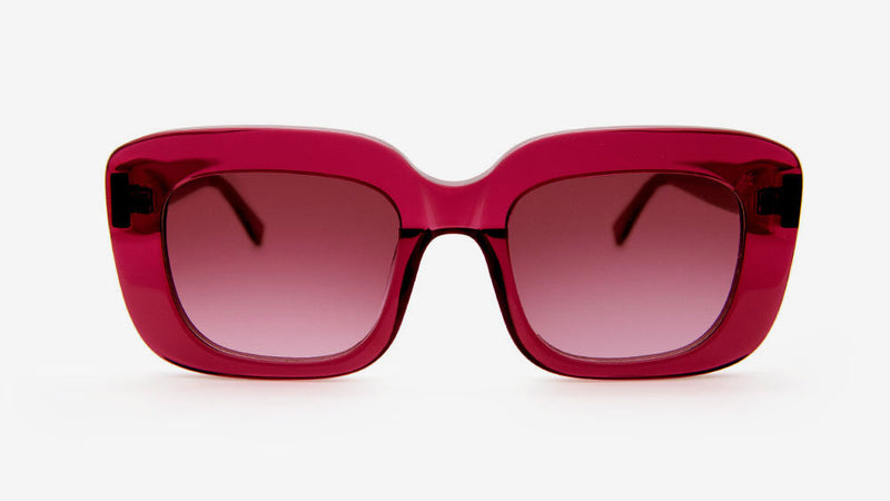 Farai Berry Crystal | Ethical & Sustainable Sunglasses Australia | ECOMONO