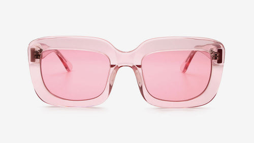 Farai Flamingo Crystal | Ethical & Sustainable Sunglasses Australia | ECOMONO