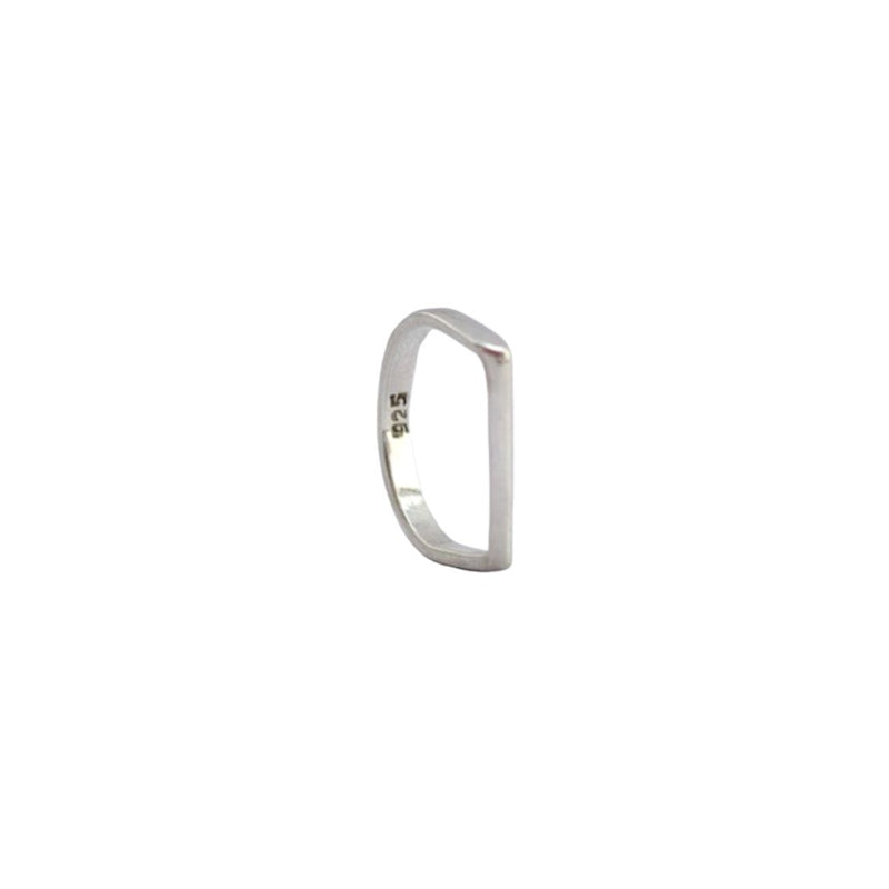 Flat Top Stirling Silver Ring | Ethical Jewellery Australia | ECO.MONO
