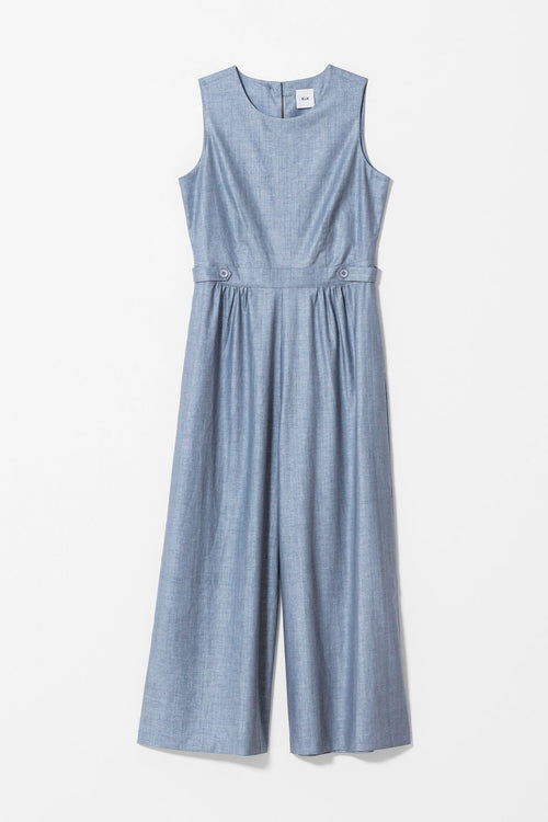 GREY HERSOM JUMPSUIT | Elk Clothing | Ethically Made Jumpsuits