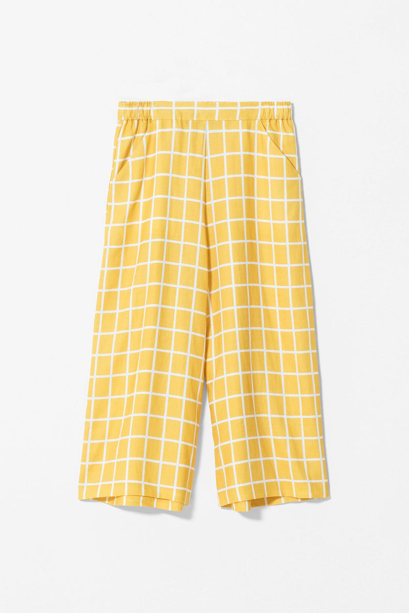 HOPEN PANTS YELLOW | Elk Clothing | Ethically Made Pants & Culottes
