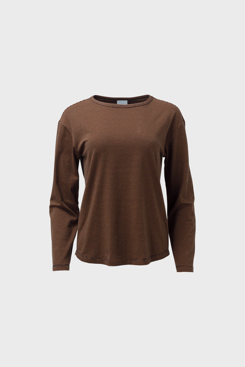 Halina Top Copper | Elk The Label | Long Sleeve Winter Top | Ethical Fashion