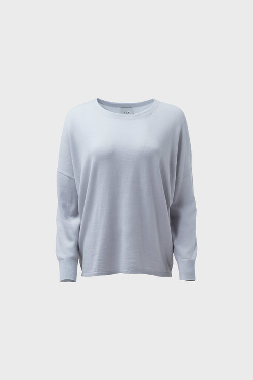 Katalin Sweater Pale Blue | Elk The Label | Merino Wool Sweater