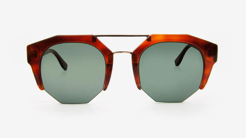 KIBWE Amber Tortoiseshell | Ethical & Sustainable Sunglasses Australia | ECOMONO