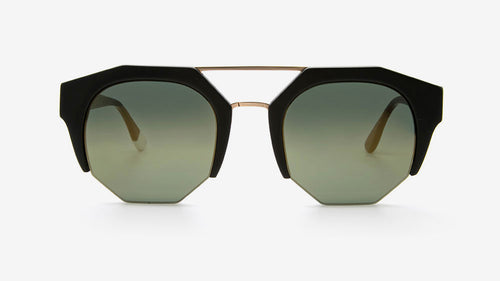 KIBWE Matt Black| Ethical & Sustainable Sunglasses Australia | ECOMONO