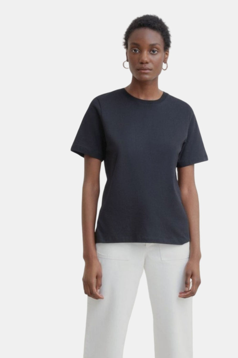 Kowtow Classic Tee Black | Organic Cotton | Ethical Fair Trade Clothing