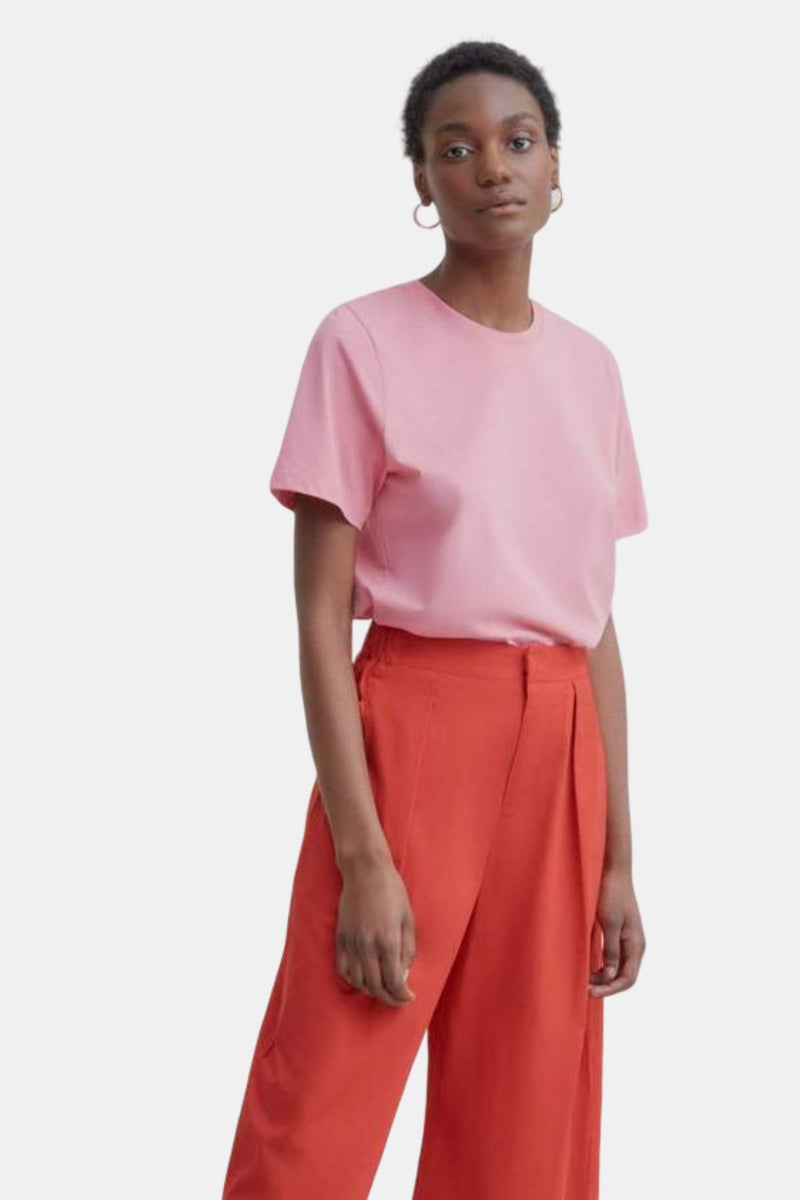 Kowtow Classic Tee Pink | Organic Cotton | Ethical Fair Trade Clothing