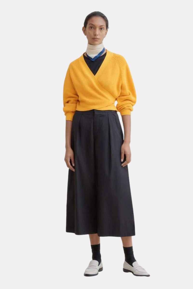Kowtow Composure Cardigan Yellow