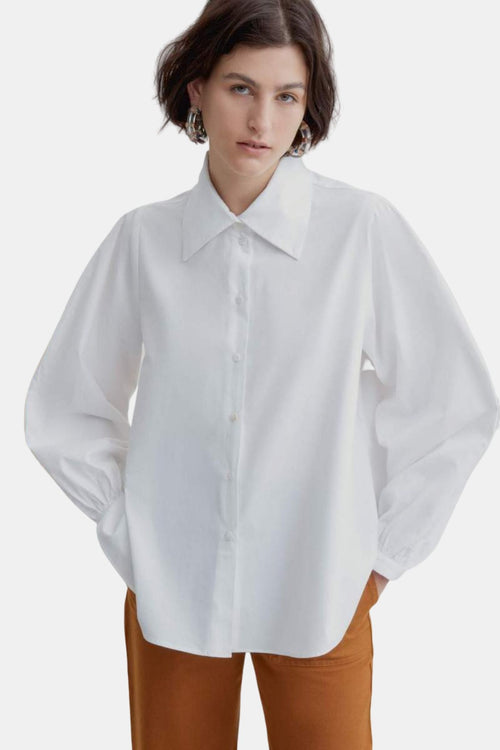 Kowtow Lens Shirt White | Organic Cotton | Women's Shirt