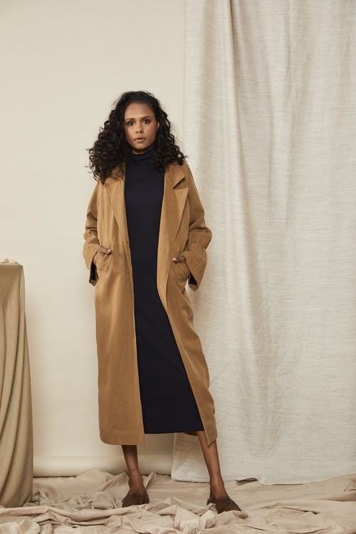 Scrunch Trench Toffee | Lois Hazel | Made in Australia