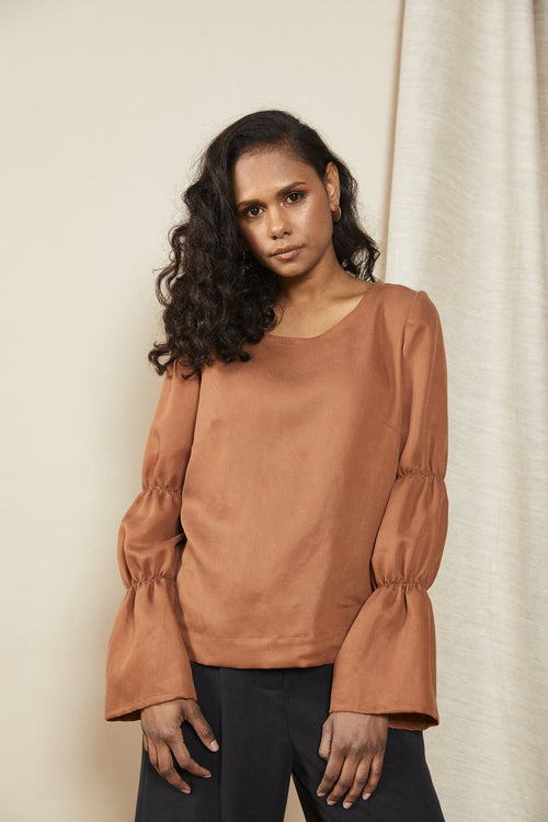 Contain Top Terracotta | Lois Hazel | Made In Australia | Fair Trade