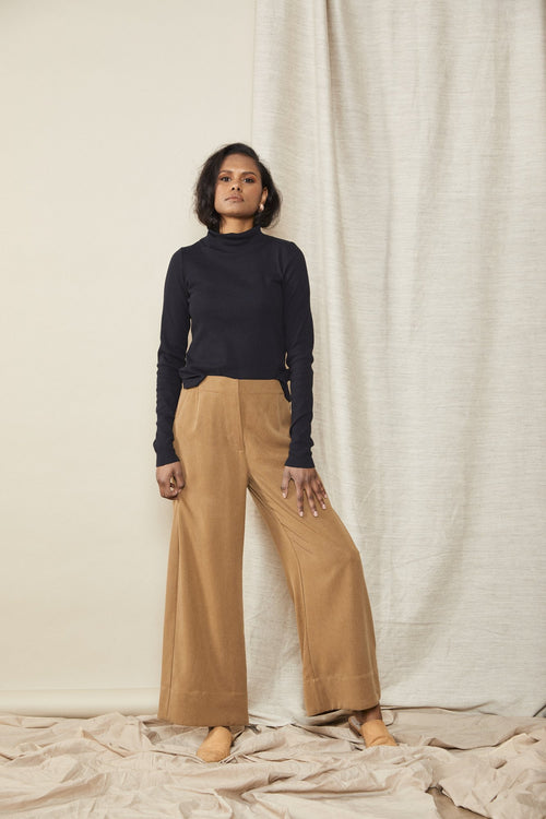 Straight Pant Toffee | Lois Hazel | Made in Australia