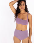 Mauve Lena High Waist Undies | Hara The Label | Sustainable Bamboo