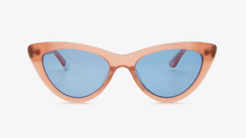 MERIA Crystal Coral Pink | Ethical & Sustainable Sunglasses Australia | Melbourne | ECOMONO