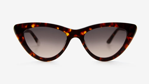 MERIA Dark Havana Tortoiseshell | Ethical & Sustainable Sunglasses Australia | ECOMONO | MELBOURNE
