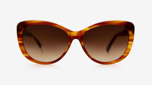 MAKENA Carmel Stripe Bio Acetate | Ethical & Sustainable Sunglasses Australia