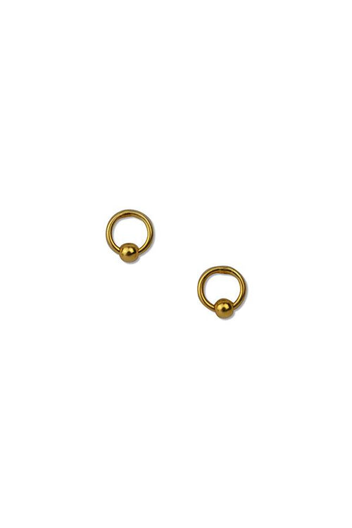 Mini Ball Studs | Ethical & Sustainable Jewellery & Accessories | ECO.MONO