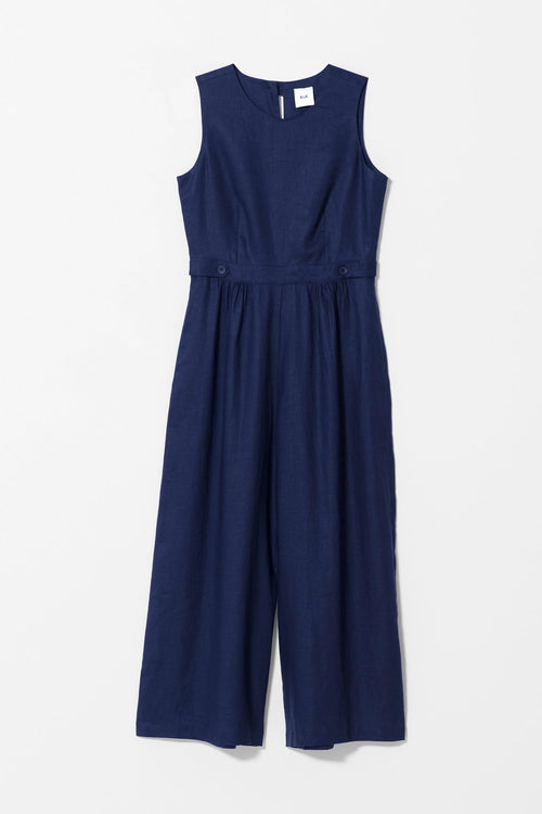 NAVY HERSOM JUMPSUIT | Ethical & Sustainable Fashion Australia | ECO.MONO | Melbourne | Spring Summer