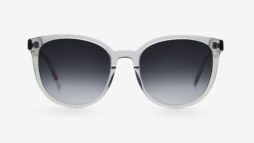 NKIRU Grey Crystal | Ethical & Sustainable Sunglasses Australia | ECOMONO | MELBOURNE