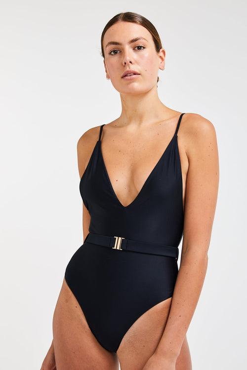 LIQUORICE SWIMSUIT | Ethical Swimwear Australia | ECO.MONO