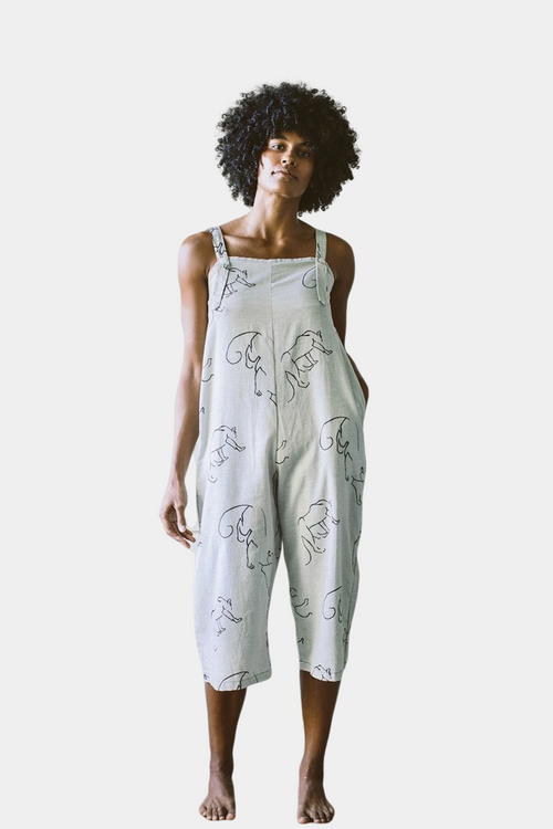 Organic Cotton Hemp Juniper Jumpsuit Pantha | Ethical Jumpsuits | Sustainable Jumpsuits
