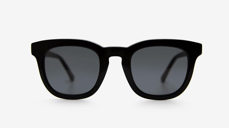 PENDO Black Matt Gloss | Ethical & Sustainable Sunglasses Australia