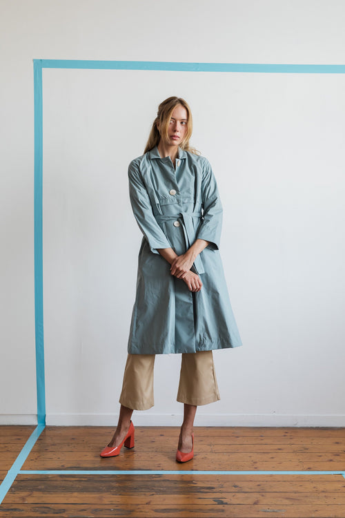 Sha Wan Trench Coat | Ricepaper The Label | Made in Melbourne