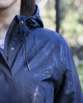 Refuge Waterproof Long Jacket - Navy | Ethical Winter Coats Australia