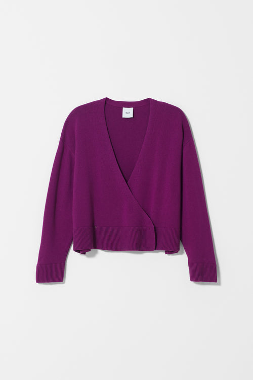 SEL CARDIGAN - Magenta | Ethical & Sustainable Fashion Australia | ECO.MONO | Melbourne | Spring Summer
