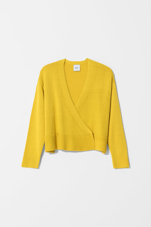 SEL CARDIGAN Yellow | Ethical & Sustainable Fashion Australia | ECO.MONO | Melbourne | Spring Summer