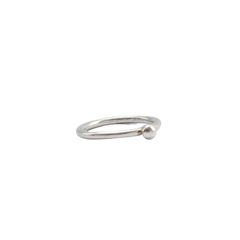 Sphere Ring Stirling Silver Ring | Ethical Jewellery Australia | ECO.MONO