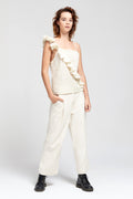 Carlie Ballard | Storm Top - Cream | Ethical & Sustainable Fashion Australia | ECO.MONO