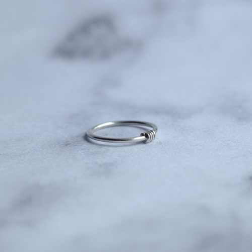 The Wire Sterling Silver Ring