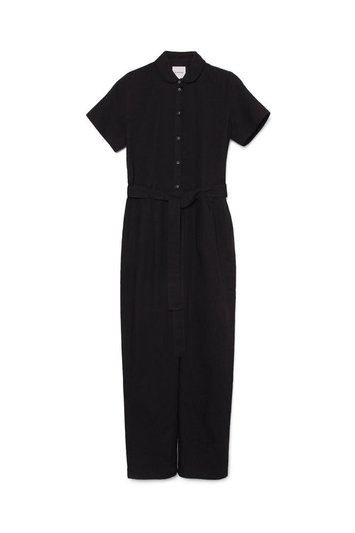 Theory Black Jumpsuit | Kowtow Australia | Organic Cotton | Fair Trade