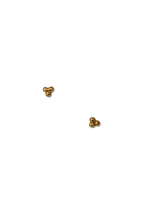 Tri studs | Ethical & Sustainable Jewellery & Accessories | ECO.MONO