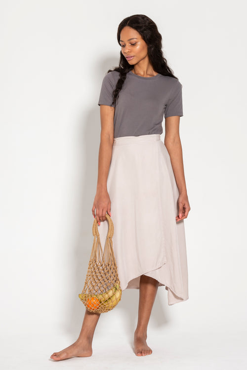 Tasi Travels Wilder Wrap Skirt