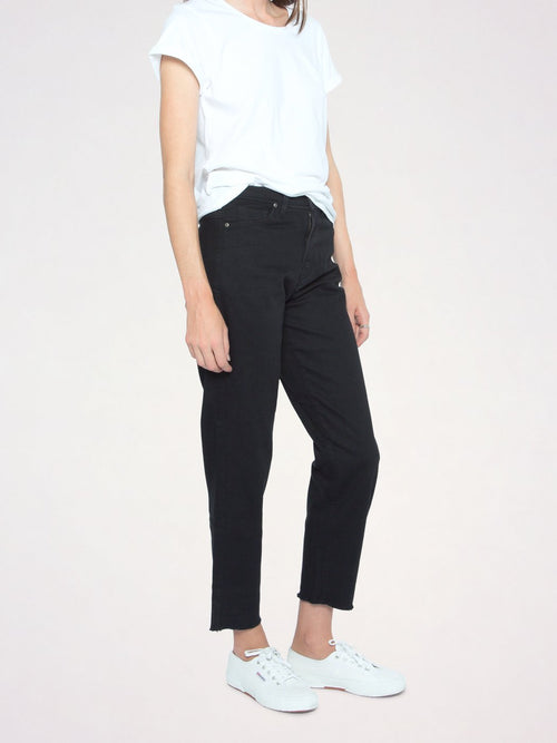 Abigail High-Rise Cropped Girlfriend Jean | Outland Denim | Ethical Jeans