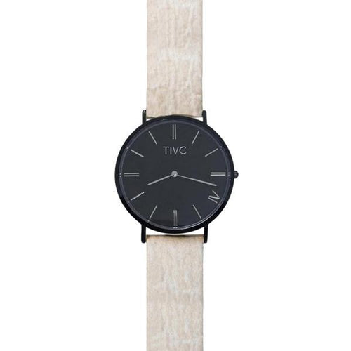 Black | Pinatex Band | Vegan Watches & Accessories | ECOMONO