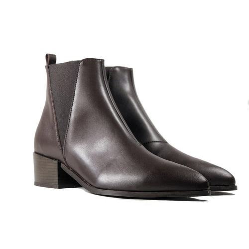 Vegan Chelsea Boot Chestnut