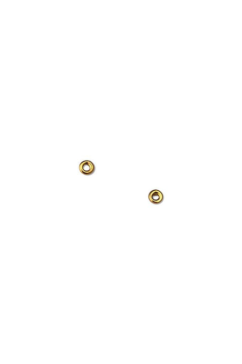 Mini Circle Stud Earrings