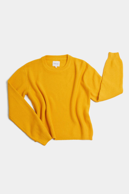 Kowtow Escape Crew Yellow | Winter Jumper | Organic Cotton