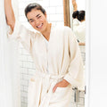 Waffle Bathrobe | ettitude | Ethical and Sustainable Bamboo Bathrobe